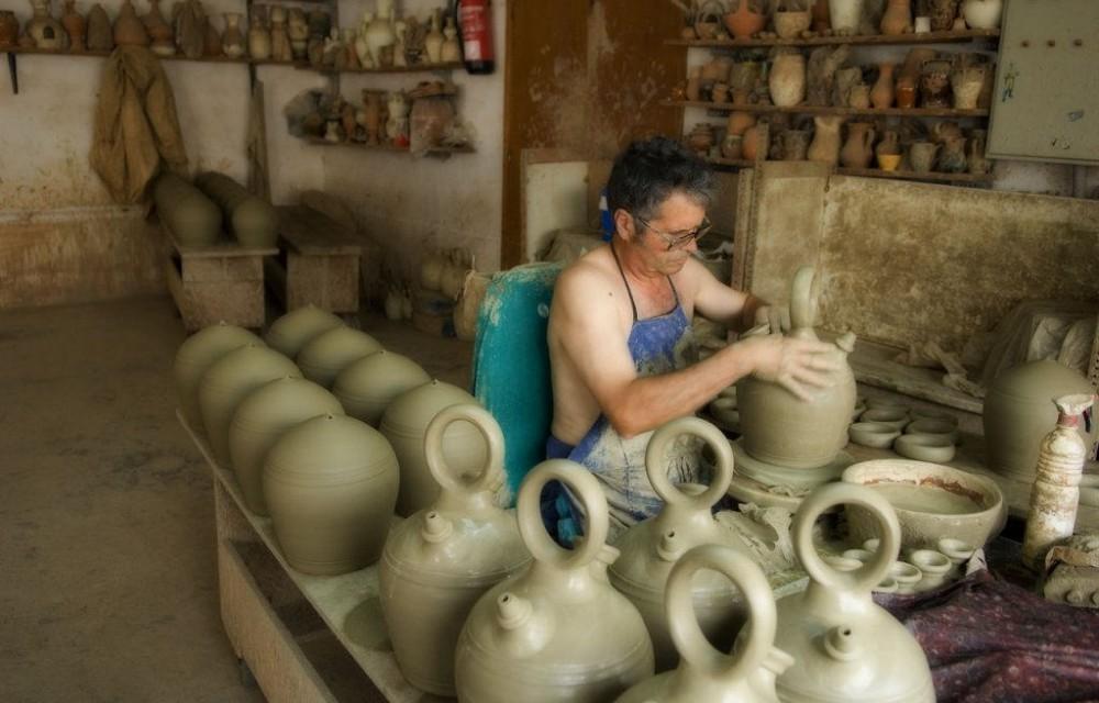 costa blanca agost trabajo ceramica