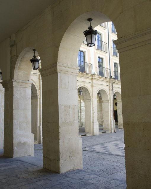 costa blanca alcoy arcos de la plaza dins
