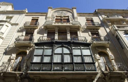 COSTA BLANCA ALCOY Casa del Pavo (1908-1909) Edificio modernista Obra de Vicente Pascual Pastor