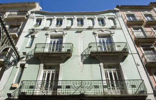 COSTA BLANCA ALCOY Círculo modernista Edificio modernista
