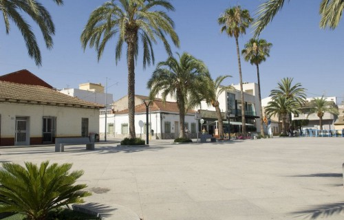 COSTA BLANCA LA VEGA BAJA ALGORFA Plaza del Ayuntamiento