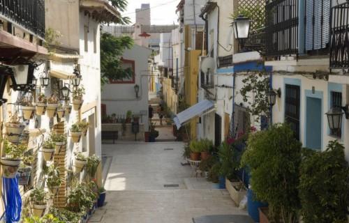 COSTA BLANCA ALICANTE Barrio de Santa Cruz