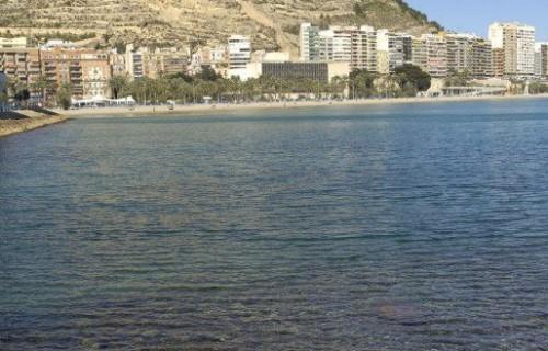 COSTA BLANCA ALICANTE Playa del Postiguet y Castillo