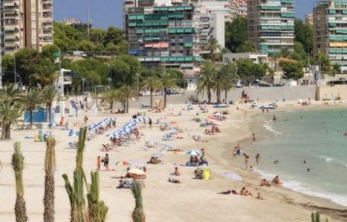 COSTA BLANCA ALICANTE Playa de l´Albufereta