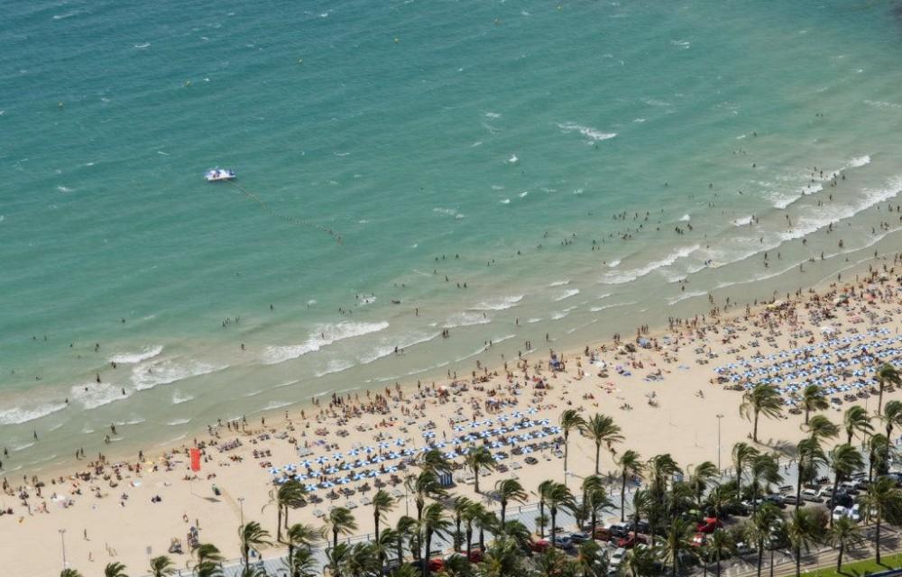 costa blanca alicante playa postiguet verano