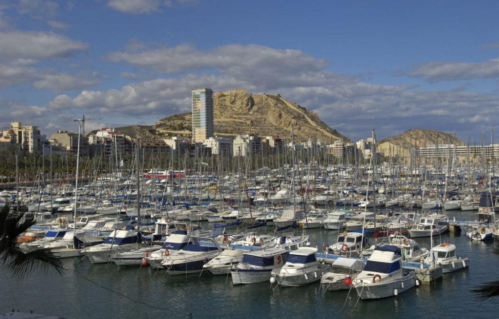 costa blanca alicante puerto deportivo