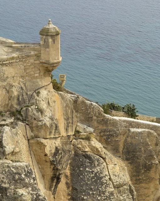 costa blanca alicante torre castillo santa barbara
