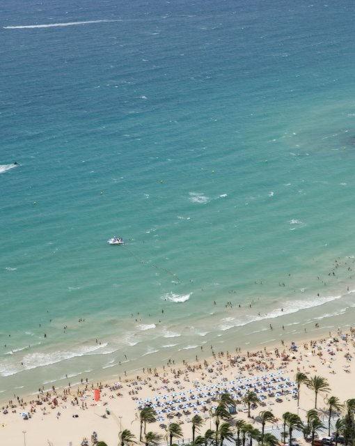 costa blanca alicante verano playa postiguet