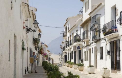 costa blanca altea arquitectura blanca