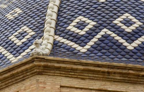 COSTA BLANCA ALTEA Detalle de la cúpula de la Iglesia