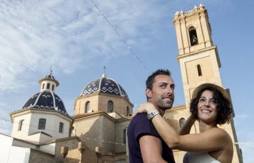 COSTA BLANCA ALTEA Momento romántico en el pueblo