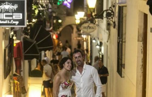 COSTA BLANCA ALTEA Durante una noche romántica