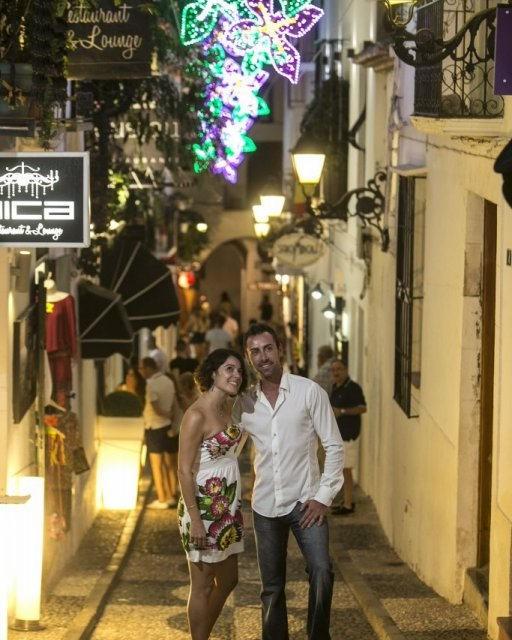 costa blanca altea noche romantica