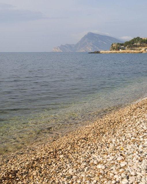 costa blanca altea playa de rocas