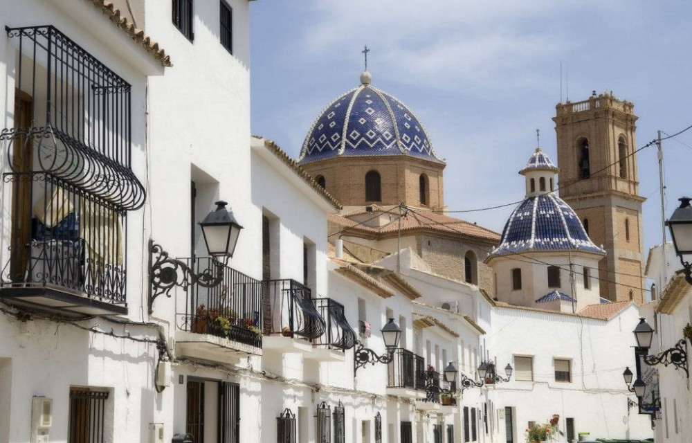 costa blanca altea pueblo blanco