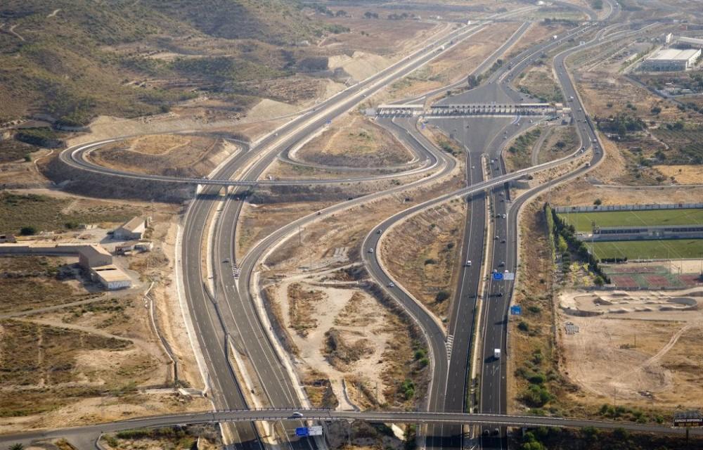 costa blanca autopista autovia