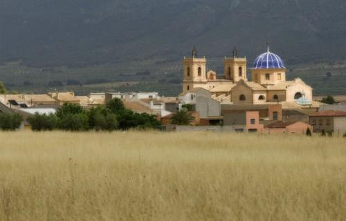 COSTA BLANCA ALTO VINALOPÓ BENEIXAMA Iglesia de la localidad