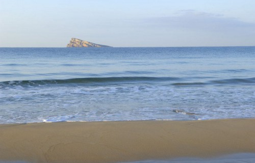 costa blanca benidorm bonita orilla del mar