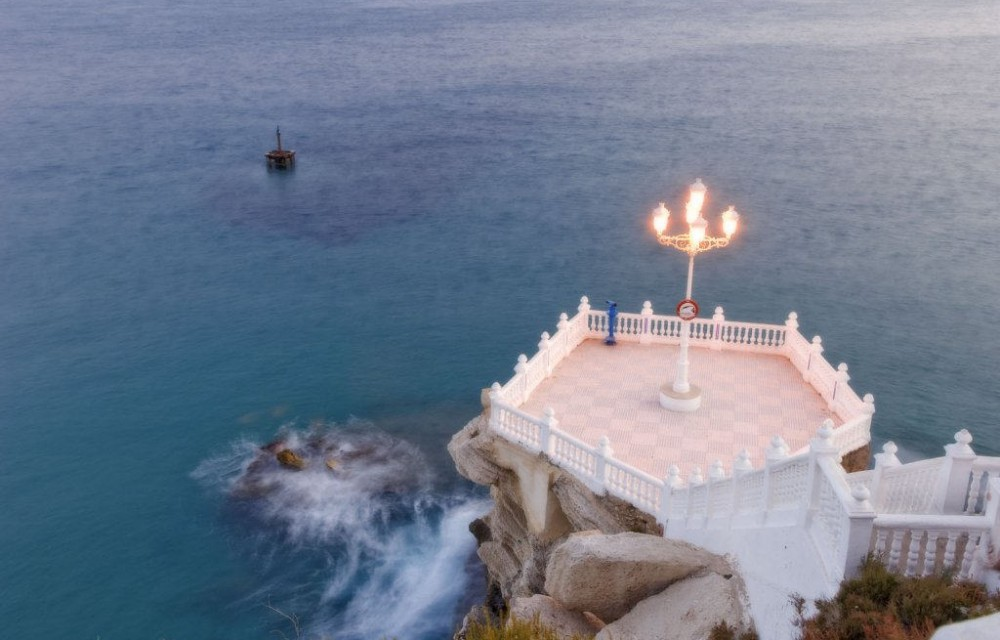 costa blanca benidorm bonita plaza castillo
