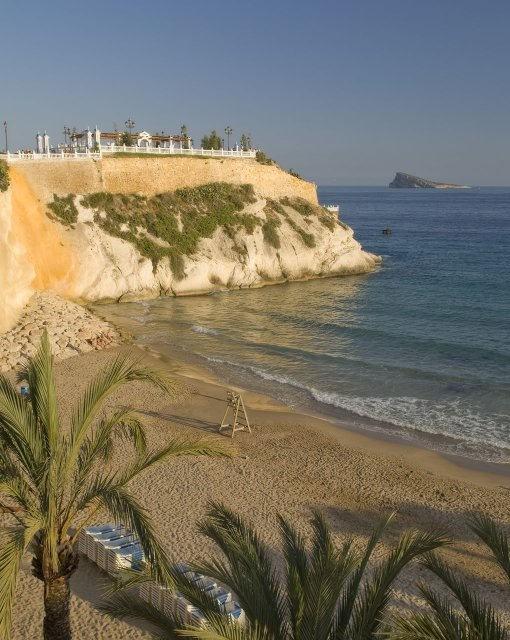 costa blanca benidorm mal pas playa