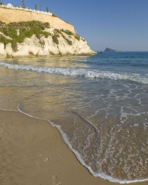 costa blanca benidorm orilla de mal pas
