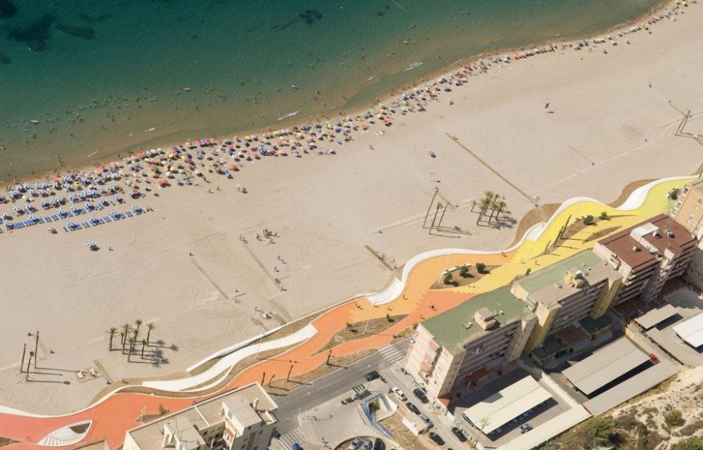 costa blanca benidorm playa primera linea