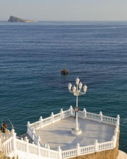 costa blanca benidorm plaza castillo calma