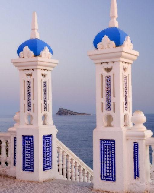 costa blanca benidorm plaza castillo y la isla