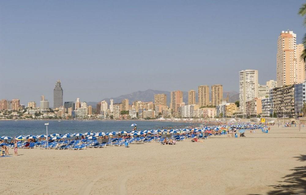 costa blanca benidorm verano y playa