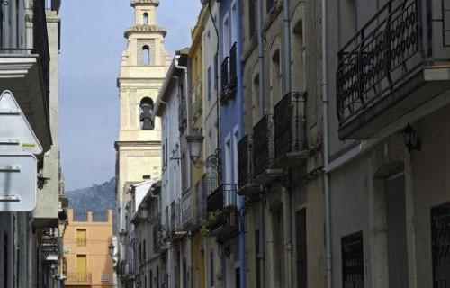 costa blanca benigemble tradicional calle del pueblo