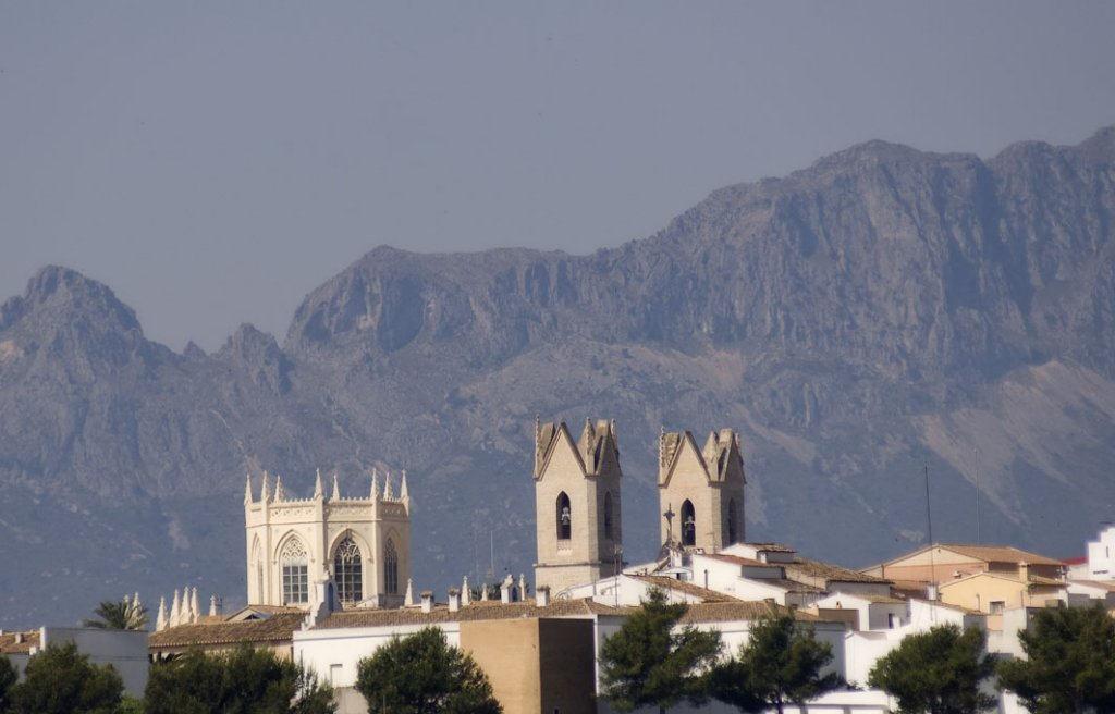 COSTA BLANCA BENISSA Iglesia dela Purísima conocida como la Catedral de la Marina