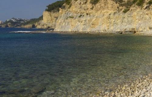 costa blanca benissa piedras cala baladar