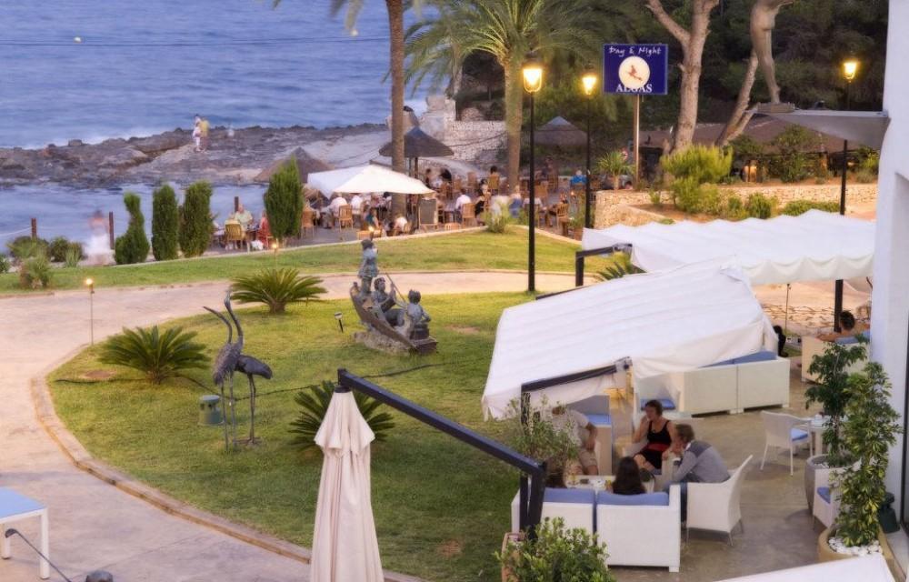 costa blanca benissa relajante cafe del mar