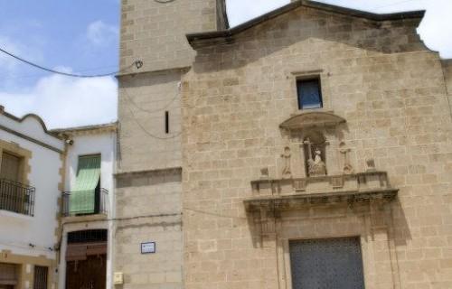 COSTA BLANCA EL POBLE NOU DE BENITATXELL Iglesia de la localidad