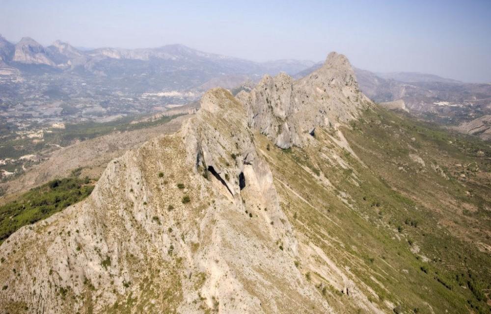 costa blanca bernia cresta de la montana