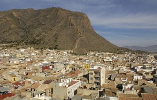 COSTA BLANCA LA VEGA BAJA CALLOSA DE SEGURA Vista desde el Santuario de San Roque