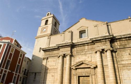 COSTA BLANCA CALLOSA D´EN SARRIÀ Iglesia de la localidad