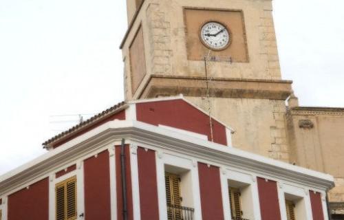 COSTA BLANCA MARINA BAIXA CALLOSA D´EN SARRIA Iglesia de la localidad