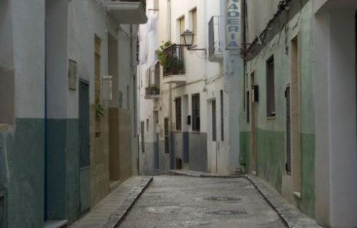 COSTA BLANCA CALLOSA D´EN SARRIÀ Calle de la localidad