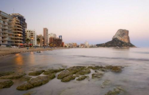 COSTA BLANCA CALPE Playa del Arenal-Bol y Peñón de Ifach