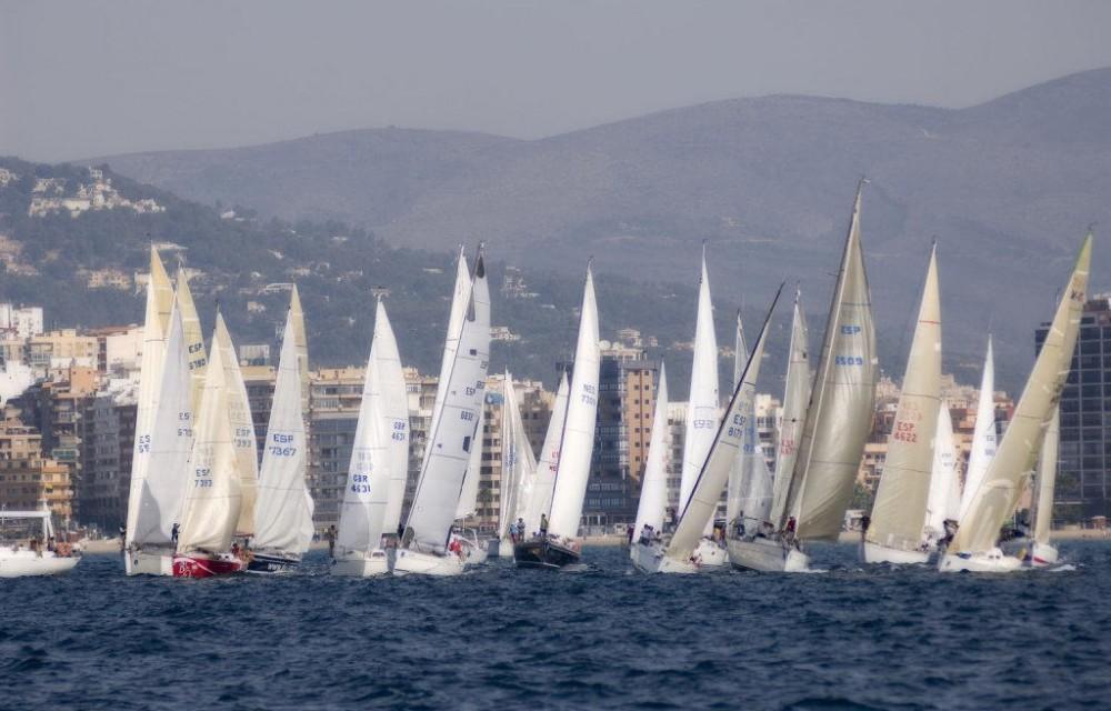 costa blanca calpe regata de vela profesional