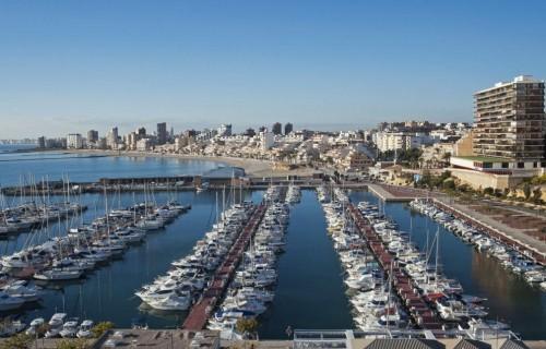 COSTA BLANCA EL CAMPELLO bonito puerto deportivo
