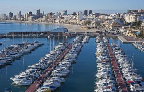 COSTA BLANCA EL CAMPELLO puerto y pueblo