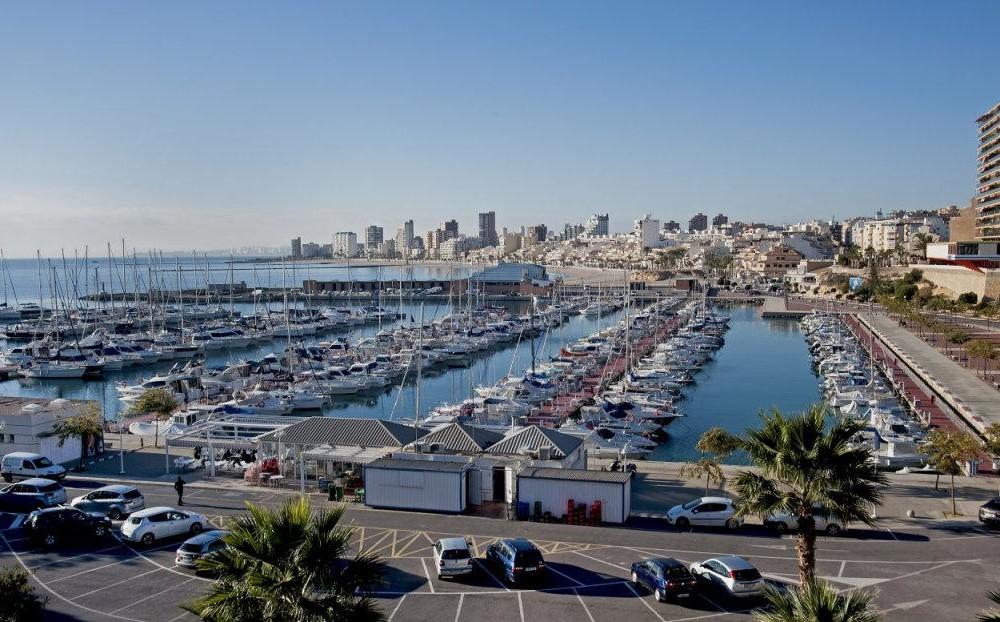costa blanca campello puerto deportivo y pueblo