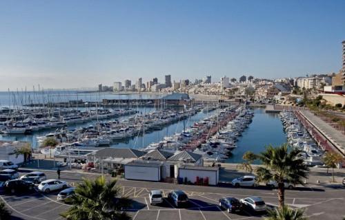 COSTA BLANCA EL CAMPELLO pueblo y puerto deportivo