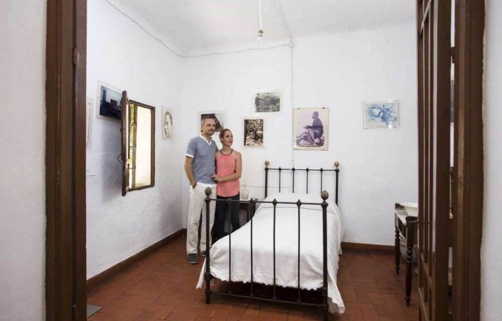 costa blanca casa museo miguel hernandez orihuela dormitorio rustico