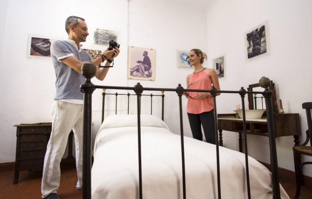 costa blanca casa museo miguel hernandez orihuela foto dormitorio