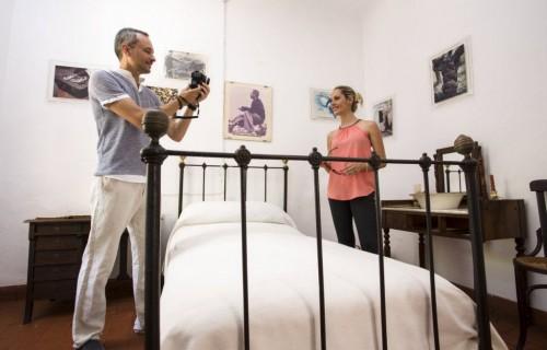 COSTA BLANCA MUSEO MIGUEL HERNANDEZ casa antigua de orihuela foto de un dormitorio