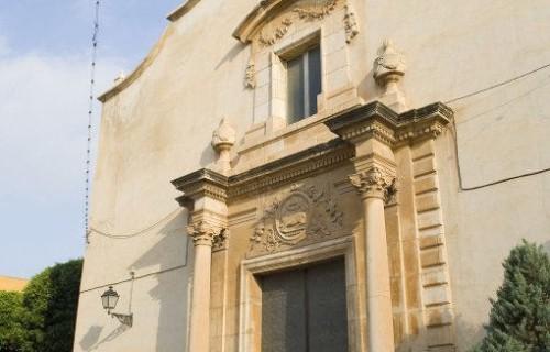 costa blanca catral fachada principal de la iglesia
