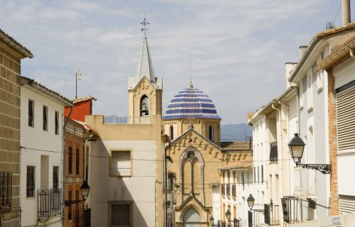COSTA BLANCA EL COMTAT BENIARRÉS Iglesia de la localidad